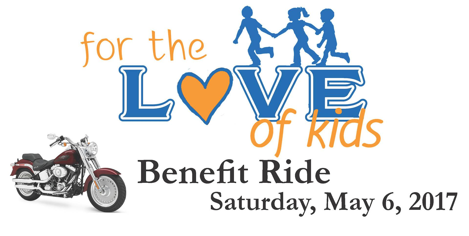 For the Love of Kids Benefit Ride to B&GH